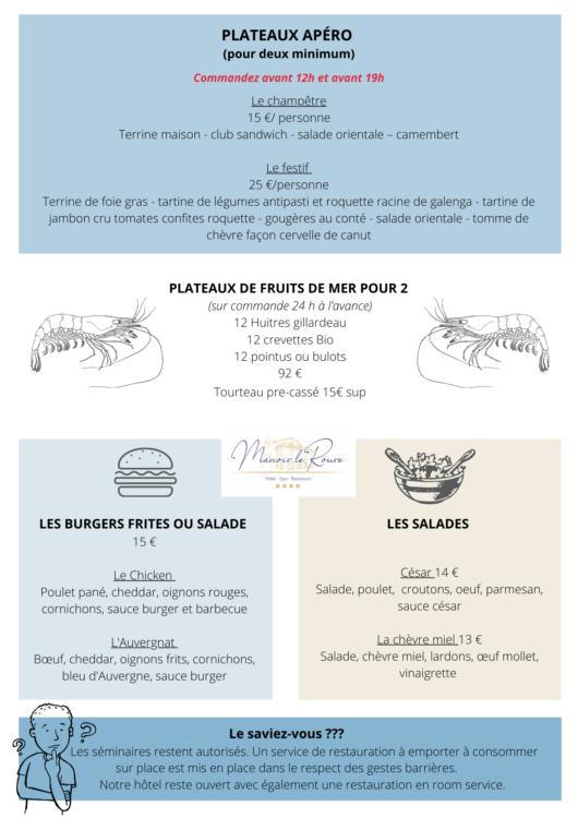 Repas à emporter à Châteauneuf, Allan, Malataverne, Montélimar